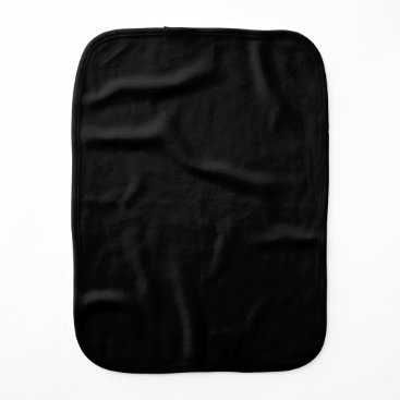 Professional Business #000000 Hex Code Web Color Dark Black Business Baby Burp Cloth