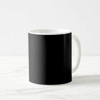 #000000 Hex Code Web Color Dark Black Business Coffee Mug