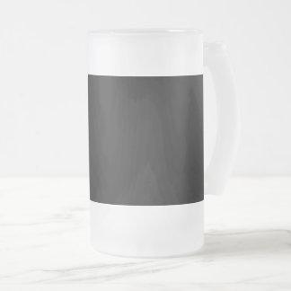 #000000 Hex Code Web Color Dark Black Business Frosted Glass Beer Mug