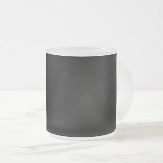 #000000 Hex Code Web Color Dark Black Business Frosted Glass Coffee Mug