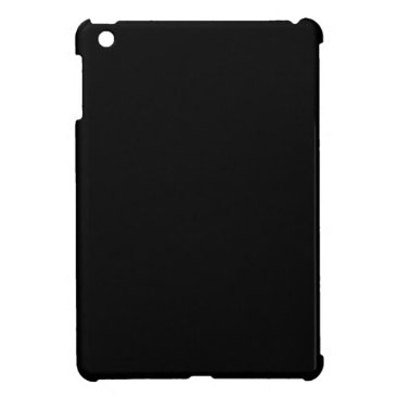 Professional Business #000000 Hex Code Web Color Dark Black Business iPad Mini Cases