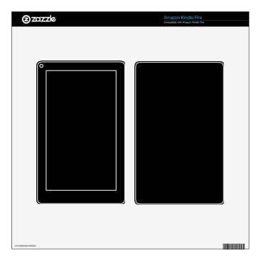Professional Business #000000 Hex Code Web Color Dark Black Business Kindle Fire Skins