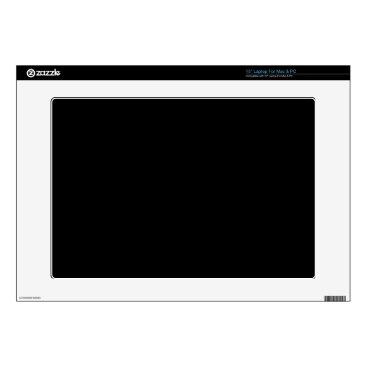 Professional Business #000000 Hex Code Web Color Dark Black Business Laptop Decals