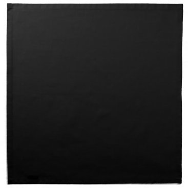 Professional Business #000000 Hex Code Web Color Dark Black Business Napkin