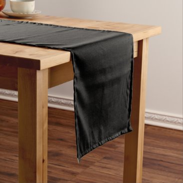 Professional Business #000000 Hex Code Web Color Dark Black Business Short Table Runner