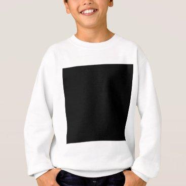 Professional Business #000000 Hex Code Web Color Dark Black Business Sweatshirt
