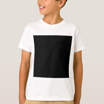 Professional Business #000000 Hex Code Web Color Dark Black Business T-Shirt