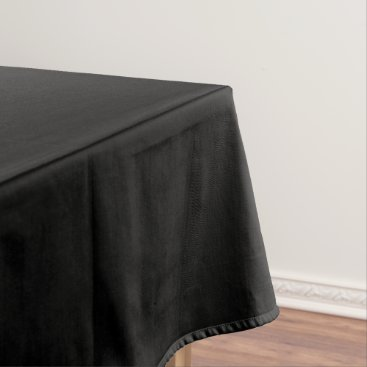 Professional Business #000000 Hex Code Web Color Dark Black Business Tablecloth