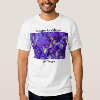 000050, Master Gardener, At Work T Shirt