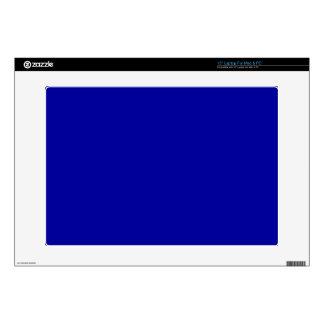 "000099 HEX COLOR DARK BLUE BACKGROUNDS TEMPLATES T 15"" LAPTOP DECAL"