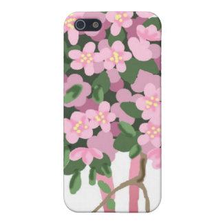 0000   Sakura Bouquet Cover For iPhone SE/5/5s