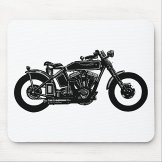 00011 Old Bike Mouse Pad