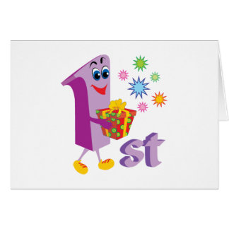 0001 1st COLORFUL CARTOON NUMBER PARTY SPECIAL OCC Card