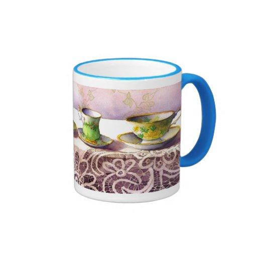 0001 Row of Teacups Mug