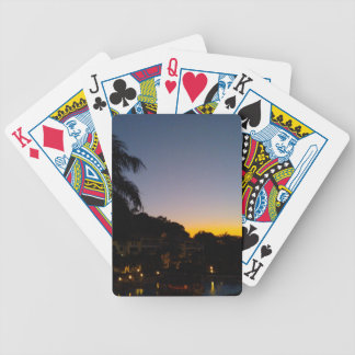 000245 SOSUA SUNSET DOMINICAN REPUBLIC VACATION DI BICYCLE PLAYING CARDS