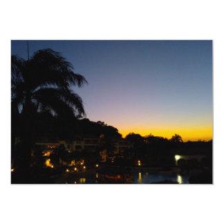 000245 SOSUA SUNSET DOMINICAN REPUBLIC VACATION DI CARD