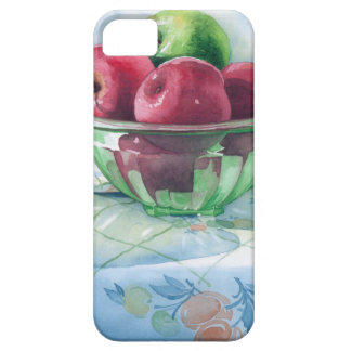 0002 Apples in Green Glass Bowl iPhone SE/5/5s Case