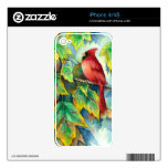 0004 Cardinal Skin For The iPhone 4