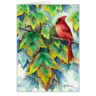 0004 Cardinal Sympathy Card