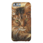 0005 Cat on Pillow Barely There iPhone 6 Case