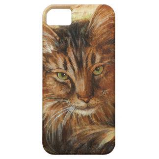 0005 Cat on Pillow iPhone SE/5/5s Case