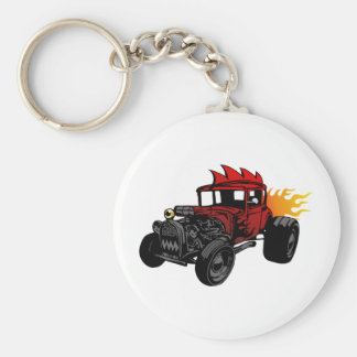 00073 Hot Rod Keychain