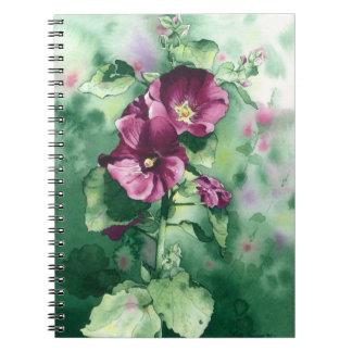 0007 Dorothy's Hollyhocks Notebook