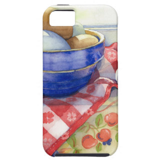 0009 Eggs in Blue Bowl iPhone SE/5/5s Case
