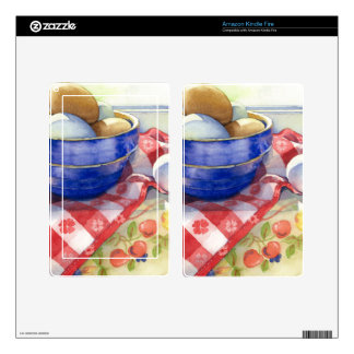 0009 Eggs in Blue Bowl Skins For Kindle Fire