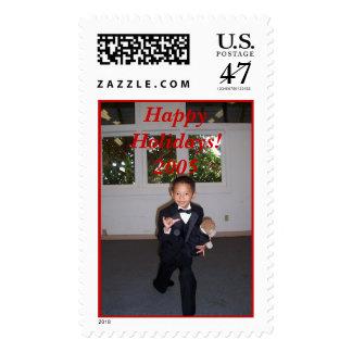 000_0045, Happy Holidays!2005 Postage