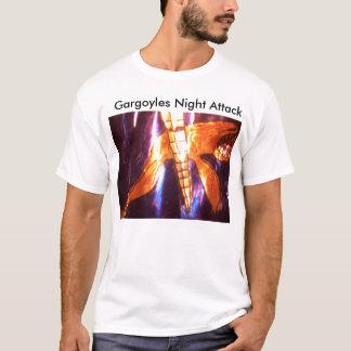 000_4847, Gargoyles Night Attack T-Shirt