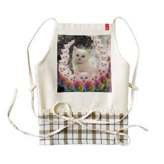 000-flower-cat zazzle HEART apron