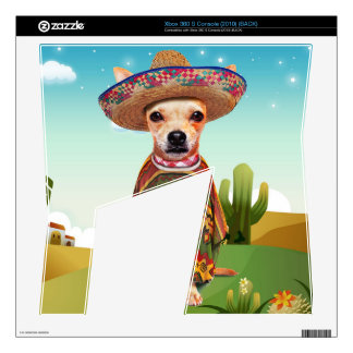 000-mexican skin for the xbox 360 s