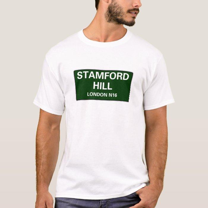 000 STREET SIGNS - LONDON - STAMFORD HILL N16 T-Shirt