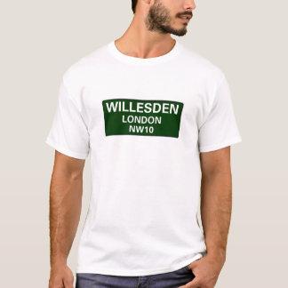 000 STREET SIGNS - LONDON - WILLESDEN NW10 T-Shirt