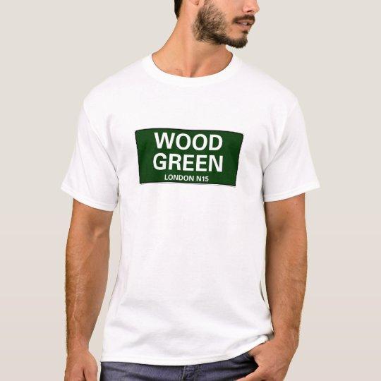 000 STREET SIGNS - LONDON - WOOD GREEN N22 T-Shirt