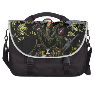 000- The 2012 Zombie Festerval full color poster 1 Commuter Bags