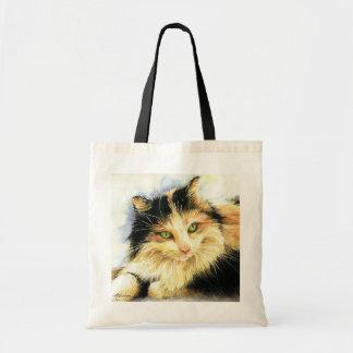 0010 Calico Cat Budget Tote Bag