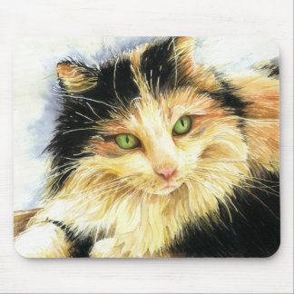 0010 Calico Cat Mouse Pad