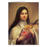 0011 St. Therese of Lisieux Note Card