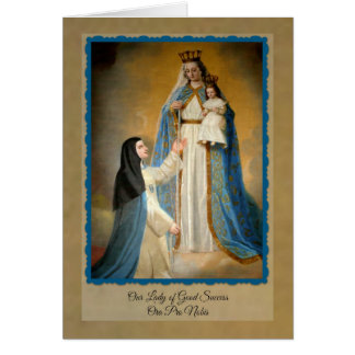 0012 Our Lady of Good Success Note Cards