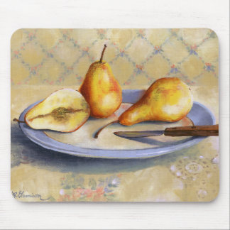 0012 Pears on Platter Mouse Pad