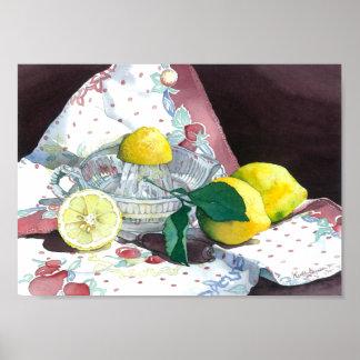0014 When Life Gives You Lemons Art Print
