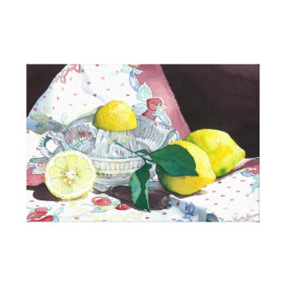 0014 When Life Gives You Lemons Canvas Print