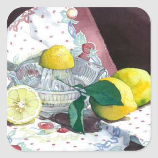 0014 When Life Gives You Lemons Square Sticker