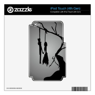 00171 Hanged Lovers Skin For iPod Touch 4G