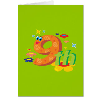 0017 9th COLORFUL CARTOON NUMBER PARTY SPECIAL OCC Card