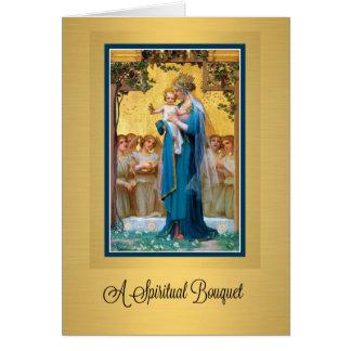 0019 Catholic Spiritual Bouquet Prayer Card