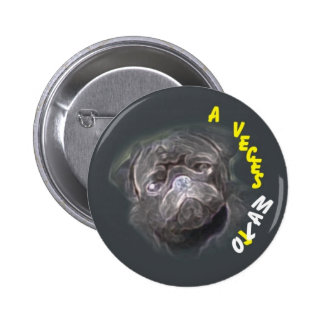 001-0050 BADGE - CHAPA PINBACK BUTTON