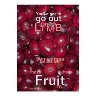 001-32zrz Youve Got to Go Out Fruit Posters